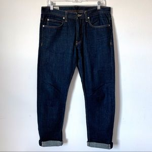 United Stock Dry Goods Selvedge Jeans Button 32